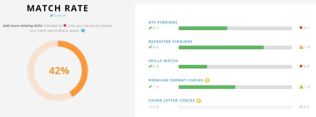 free ats resume scan
