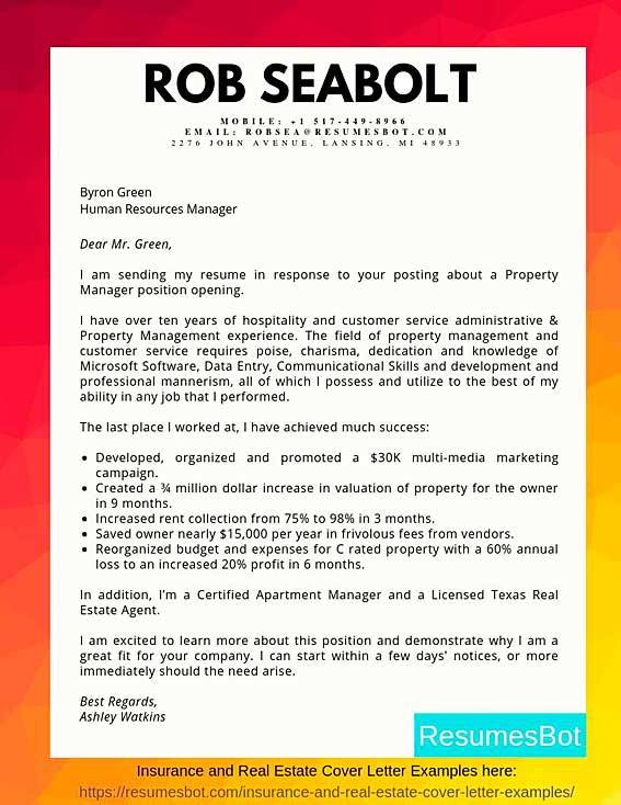 Resume Cover Letter Examples For Customer Service from resumesbot.com