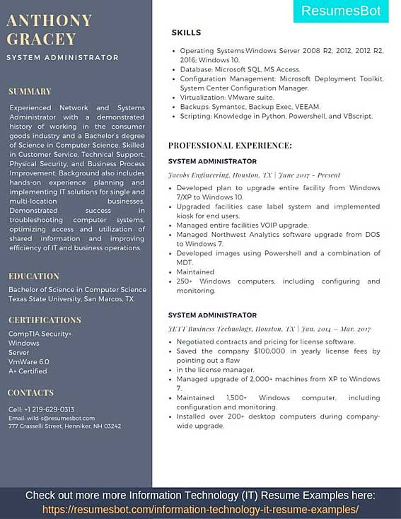 2008 resume examples how to read and write proofs